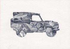 Land Rover Terrain Response Silhouette - Rock Crawl