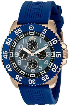 Men's Wrist Watches - Invicta Mens 18989 Pro Diver Analog Display Japanese Quartz Blue Watch *** Check out this great product. (This is an Amazon affiliate link)