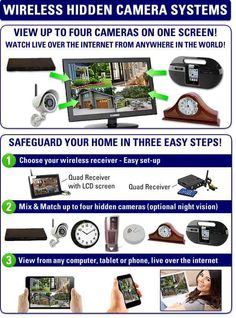 Wireless Emergency Light Hidden Camera is commercial Wireless covert cameras, for stores and buildings and also shops.http://www.securityinvisible.com/hidden-cameras/wireless-emergency-light-hidden-camera.html