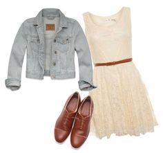 Cute except for the shoes I reeeeaaaallyy don't like the shoes I would wear this with boots tho