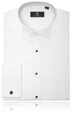 Wing Collar, Marcella Front Dress Shirt by Alexander Dobell  £34.99