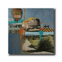 Bus To Amarillo I by Maureen Brouillette | GalleryDirect