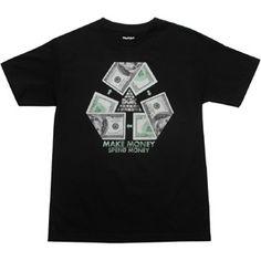 DGK Recycle Tee (black) DT610BLK - $22.00