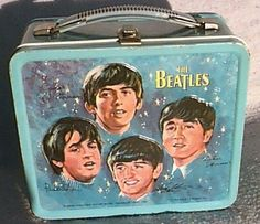 1960s Beatles Lunch Box