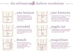 The #ultimate #Cuffs #fashion vocabulary