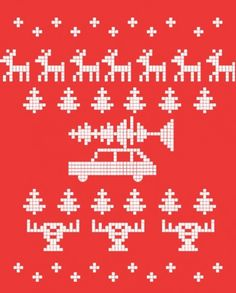 National Lampoon's Christmas Vacation sweater inspiration sparky2-482x600