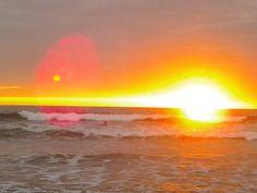 Sunset at Canoa