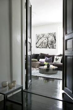 monochromatic gray decor #dreamlivingroom #dream living room