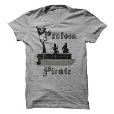 (Tshirt Great) Pontoon Pirate Custom T [Teeshirt 2016] Hoodies Tee Shirts