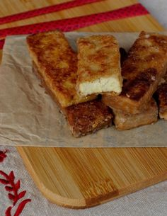 Bâtonnets panés de tofu {Battle food #13}