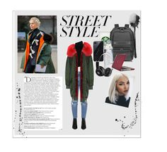 """""""Street Style"""" by qveenblen on Polyvore featuring Alexander Wang, Chloé, Mr & Mrs Italy, Porsche Design, Susquehanna Glass, Sefton, Beats by Dr. Dre, Speck, Balmain and contestentry"""