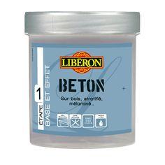 Peinture à effet Effet béton LIBERON, gris orage, 0.5 L