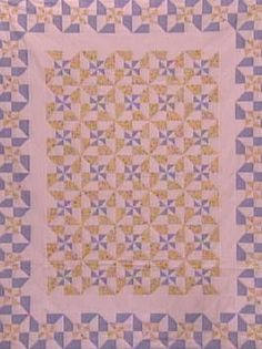 How To Make a Double Pinwheel Quilt in a Day : Archive : Home & Garden Television
