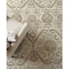 Orissa 6x9 Rug In All Rugs Crate And Barrel Entry Rugs Size Rug Styles Area Rugs