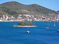 Vathi, Ithaka island Ithaca Greece, Corfu, Greek Islands, Beautiful Islands, Ancient Greek, Places Ive Been, Travelling, Dolores Park, Paradise