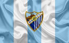 Lataa kuva Malaga FC, football club, Malaga tunnus, logo, La Liga, Malaga, Espanja, LFP, Espanjan Jalkapallon Mm-Kilpailut