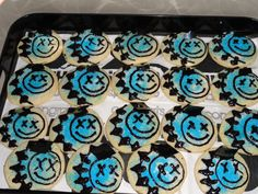 Blink 182 Sugar Cookies