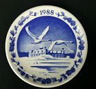 "Royal Copenhagen Kronborg Hamlet's Castle Small Collector's Plate 3.25"" 1988"