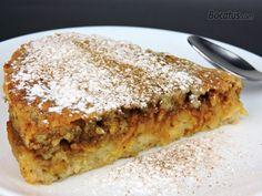 Tarta de manzana y almendra Gluten Free Desserts, Healthy Desserts, Gluten Free Recipes, Sweet Desserts, Sweet Recipes, Creative Desserts, Oreo Cake, Sweet Pie, Dessert Bread