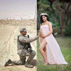 This Moms story in the picture touched my heart. While her Husband is on duty serving our country missing her pregnancy and will miss her labor. Great way to put this picture together The strength of WOMEN amazes me . Deployment Pregnancy, Military Pregnancy Announcement, Military Maternity Photos, Pregnancy Goals, Maternity Pictures, Pregnancy Photos, Maternity Shoots, Military Love, Military Girlfriend