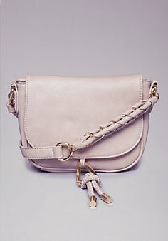 Mila Braid Crossbody Purse