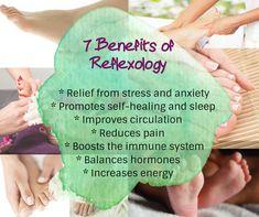 Give Reflexology a try! Reflexology Massage, Reflexology Benefits, Massage Marketing, Muscle Anatomy, How To Increase Energy, Massage Therapy, Stress And Anxiety, Healing, Natural Remedies