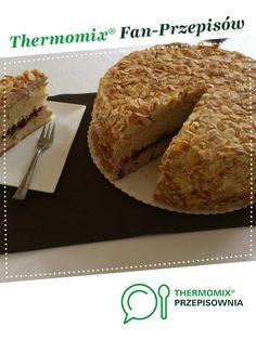 Tort Biszkoptowy z kremem orzechowym i płatkami migdałowymi jest to przepis stworzony przez użytkownika 16025. Ten przepis na Thermomix<sup>®</sup> znajdziesz w kategorii Słodkie wypieki na www.przepisownia.pl, społeczności Thermomix<sup>®</sup>. Vegan Treats, Vegan Desserts, Vegan Recipes, Vegan Runner, Vegan Gains, Vegan Muscle, Vegan Pizza, Vegan Cake, Easy Food To Make