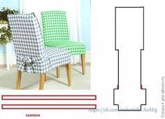 Ideas para el hogar: Molde de costura fundas de sillas
