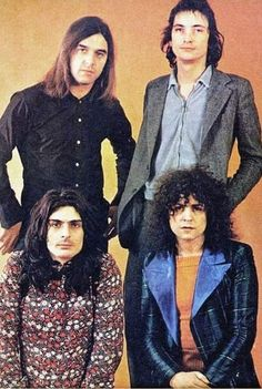 ❤Marc Bolan ❤Mickey Finn ❤Bill Legend and ❤ Steve Currie of T. Marc Bolan, Glam Rock, Led Zeppelin, Classic Rock, T Rex, Music Stuff, Deep Purple, Music Is Life, Rolling Stones