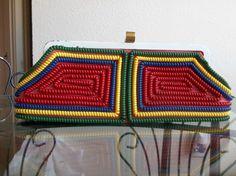 vintage telephone cord purse!