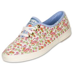Women's Keds Champion Floral Casual Shoes