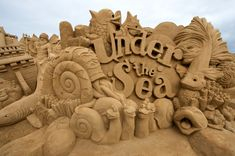 sand sculpture - Google Search