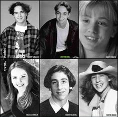 Big Bang Theory...the way they were.