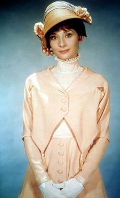 Eliza Doolittle (Audrey Hepburn) 'My Fair Lady' 1964. Costume designed by Cecil Beaton.