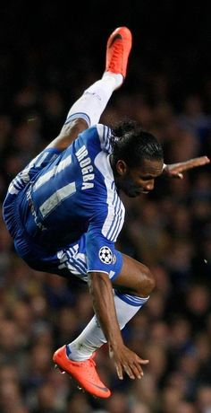 Didier Drogba. When he retires, from football all together, we should retire #11. If anybody deserves it, he does. #sorryoscar
