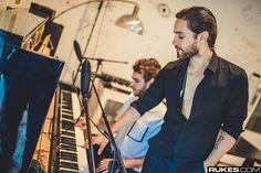Me and @zedd in the lab  by jaredleto