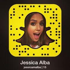 71 Promis, die auf Snapchat alles zeigen Jessica Alba Username: jessicamalba