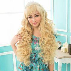 Long Full Wig - Wavy