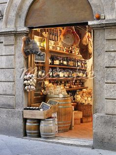 european wine shop