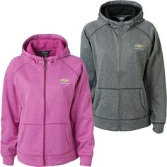 LADIES CHEVROLET GOLD BOWTIE COMPETITION HOODED SWEATSHIRT - Available @ Lingenfelter Performance Engineering (260) 724-2552 #Chevy #Lingenfelter #Camaro #Corvette