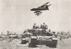On the morning of June 5, 1967 at 7:45 a.m., Israeli Mirage III, Super Mystère and Vautour fighter-bombers swooped over the Mediterranean toward airbases in Egypt and in less than three hours, destroyed the bulk of the Egyptian air force. A similar fate awaited the air forces of Jordan, Syria and Iraq.