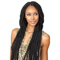 "Bobbi Boss Crochet Braid Senegal Bomba Faux Locs Dread 20"" – HAIRSOFLY SHOP"