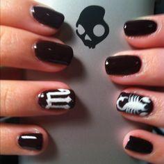 Scorpio nails