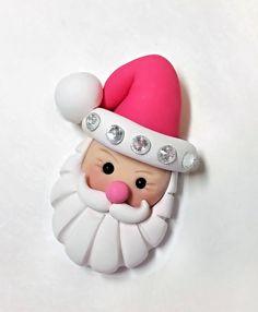 Père NoëlArgile SantaSanta pendentifSantaSanta par PegsSewCrafty
