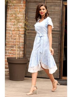 2564 голубой, Мода-Юрс High Low, Shoulder Dress, Shirt Dress, Shirts, Dresses, Fashion, Vestidos, Moda, Shirtdress