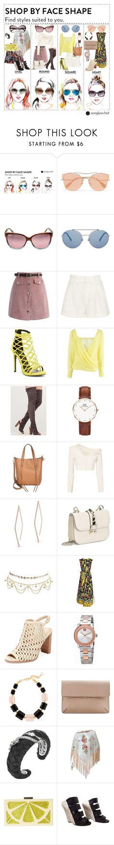 """""""Style Suited to You- Inspired by Sunglass Hut"""" by fantasy-luv ❤ liked on Polyvore featuring Miu Miu, Maui Jim, Valentino, Chicwish, Apiece Apart, Wild Diva, Versace, Daniel Wellington, Rebecca Minkoff and Jonathan Simkhai"""