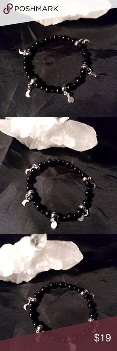 I just added this listing on Poshmark: Sterling Moon Phase Onyx Stretch Bracelet Witchy. Satanic Jewelry, Witch Jewelry, Altars, Beautiful Gift Boxes, Moon Phases, Stretch Bracelets, Silver Charms, Jewelry Bracelets, Handmade Jewelry