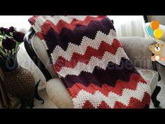 Zikzak Battaniye Modelleri & Zikzak Battaniye Nasıl Örülür?💗 - YouTube Christmas Sweaters, Blanket, Youtube, Baby Painting, Christmas Jumper Dress, Blankets, Cover, Comforters, Youtubers