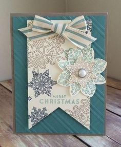 Flurry of Wishes card idea by Bonnie O'Neill
