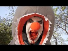 Clown Shark. This is hilariously frightening. I never knew I had a fear of clown sharks till I watched this... Thank you Rhett and Link..... haha